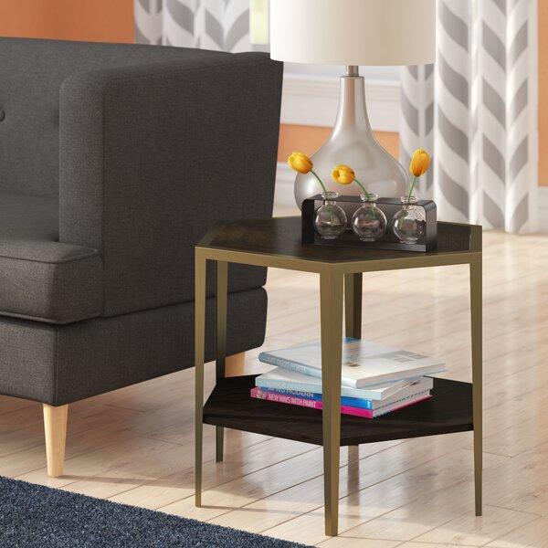 Briggs Geometric End Table by Brayden Studio Brayden Studio