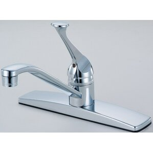 Hardware House Single Handle Deck Mounted Kitchen Faucet