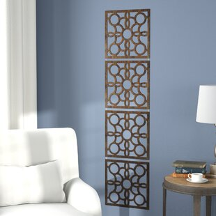 bedroom divider. Gallipolis 63  x 15 75 4 Panel Room Divider Set of Brown Dividers You ll Love Wayfair