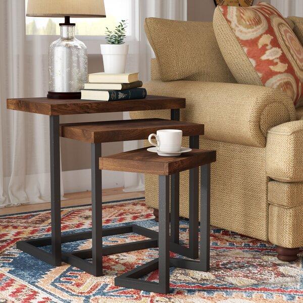 Home & Garden Crenata 3 Piece Nesting Tables