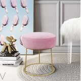 Hollman Accent Stool by Mercer41