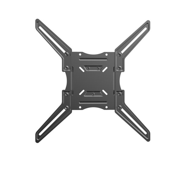 Single Stud Fixed Wall Mount for 23- 55 Flat Panel Screens by Level Mount