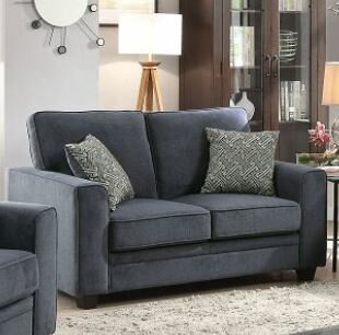Cabell Loveseat with Pillow by Wrought Studio