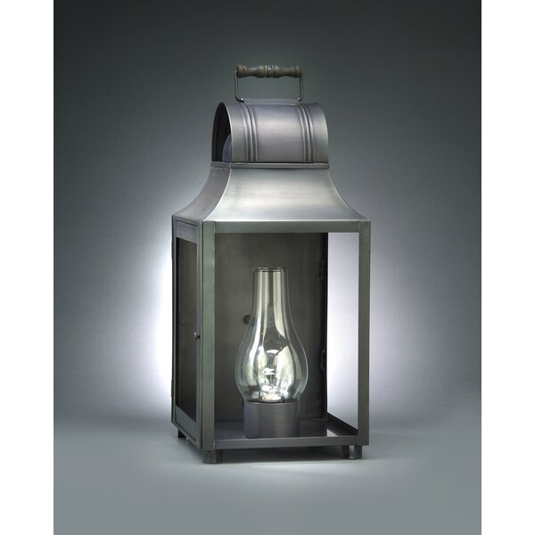 Livery 3-Light Outdoor Flush Mount by Northeast Lantern