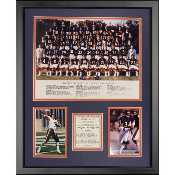 NFL Chicago Bears - 1985 Bears Framed Memorabili by Legends Never Die