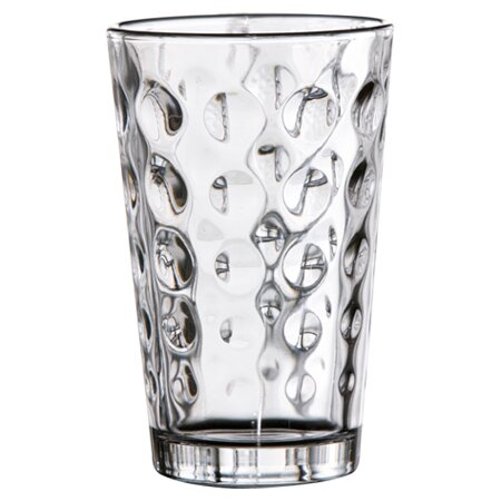 Callie 14 oz. Glass Highball Glass (Set of 6) by Jay