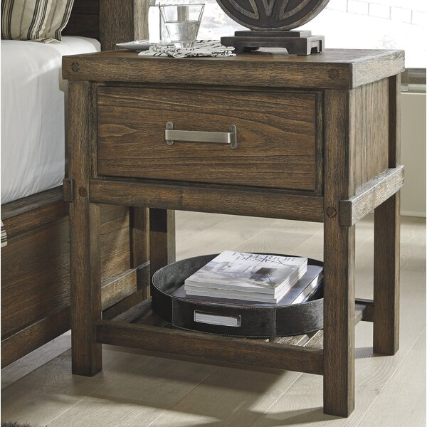 Belen 1 Drawer Nightstand by Loon Peak