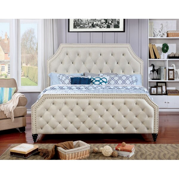 Aliza Upholstered Standard Bed by Everly Quinn