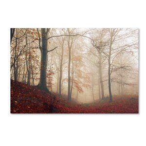'Waiting for the Deer' Photographic Print on Wrapped Canvas by Trademark Fine Art