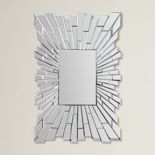 Brayden Studio Woods Rectangle Wall Mirror