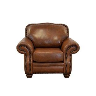 Parker Genuine Top Grain Leather Club Chair