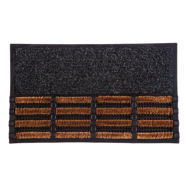 DeLussey Coir Brush Doormat by Winston Porter