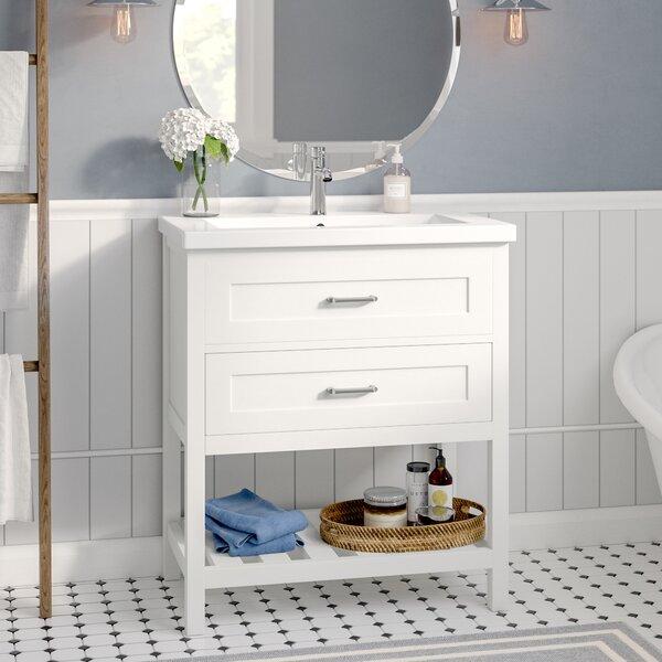Caudillo 30 Single Bathroom Vanity Set by Rosecliff Heights