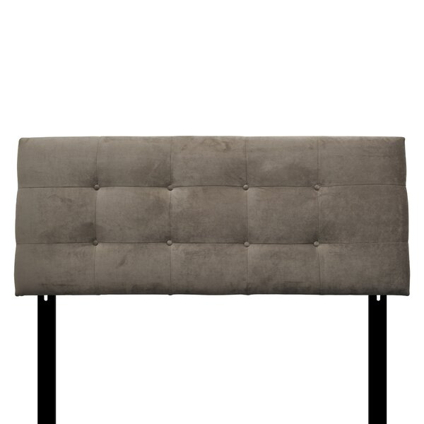 Goulet Eastern King Upholstered Panel Headboard by Red Barrel Studio