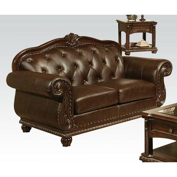 Mott Upholstered Loveseat by Astoria Grand