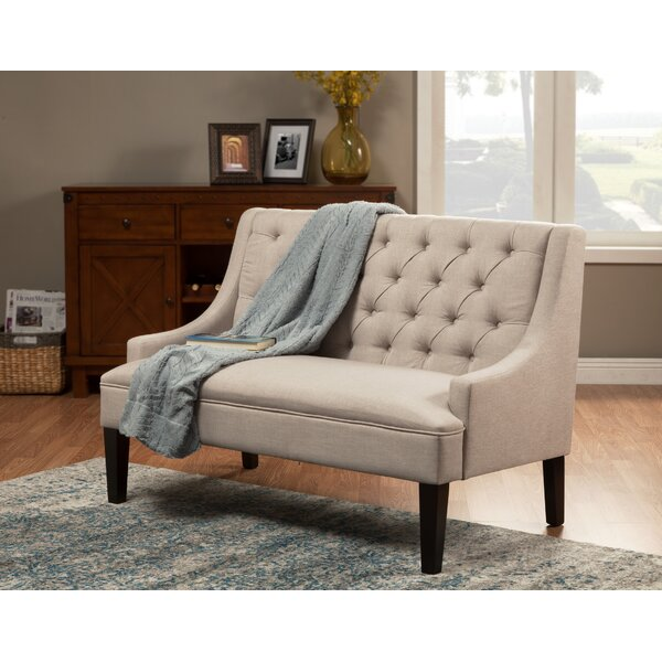 Edenbridge Upholstered Bench by Canora Grey Canora Grey