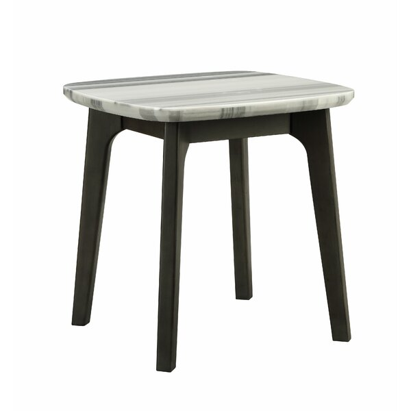 Laforest End Table by Wrought Studio