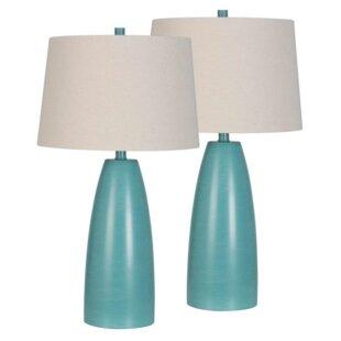 Check Prices Bealeton Plastic 27 Standard Lamp (Set of 2) By Ivy Bronx