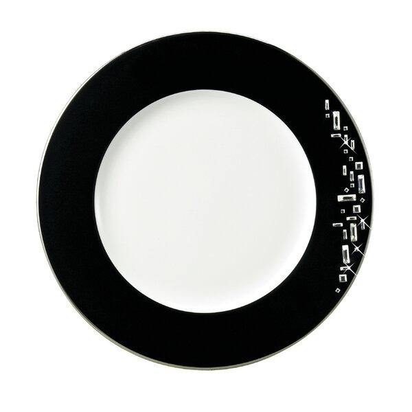 Diana Platinum 10.5 Bone China Dinner Plate