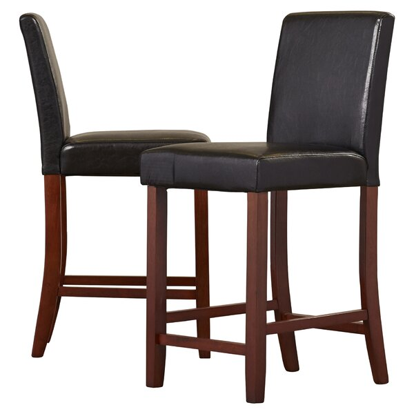 Downing 24 Bar Stool (Set of 2) by Alcott Hill