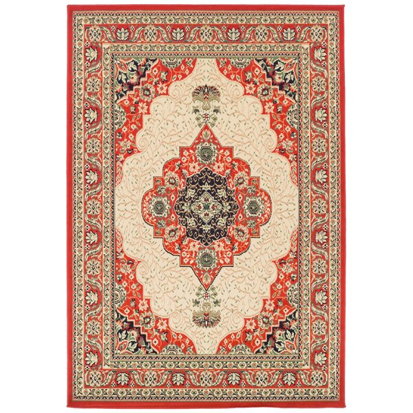 Kulas Red Indoor/Outdoor Area Rug by Astoria Grand