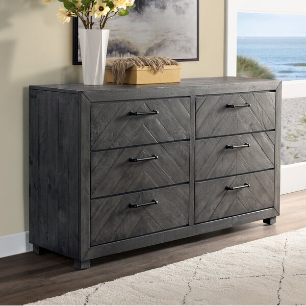Diane 6 Drawer Double Dresser by Gracie Oaks
