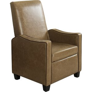 Caffee Manual Glider Recliner by Mercury Row