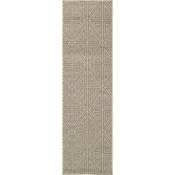 Ballance Putty/Parchment Indoor/Outdoor Area Rug by Bungalow Rose