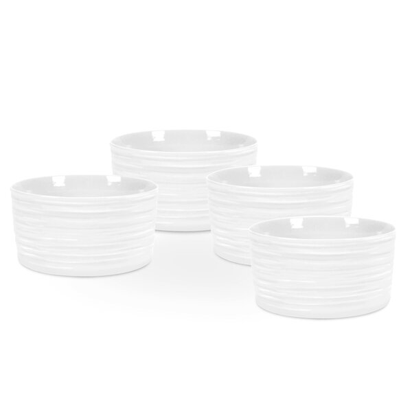 Sophie Conran White Ramekins (Set of 4) by Portmeirion