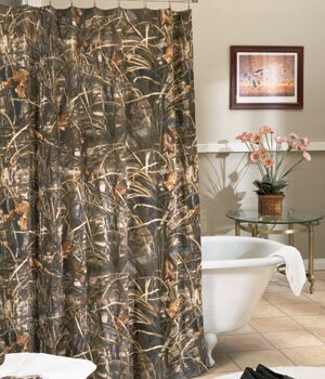 Realtree Max 4 Shower Curtain by Realtree Bedding