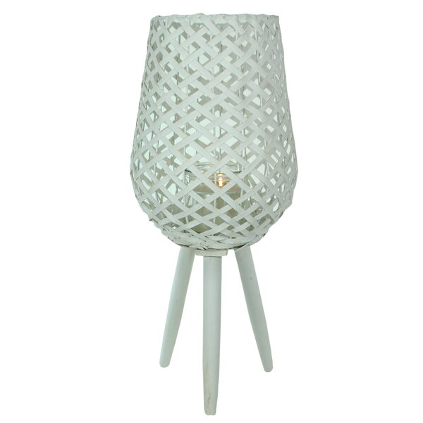 Wood Lantern By Bay Isle Home Bargain