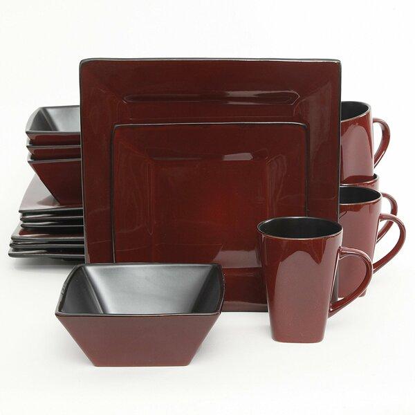 Bethel 16 Piece Dinnerware Set, Service for 4 by Red Barrel Studio