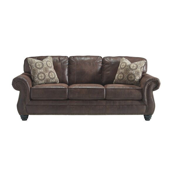 Low Price Hullinger 90'' Rolled Arm Sofa Bed