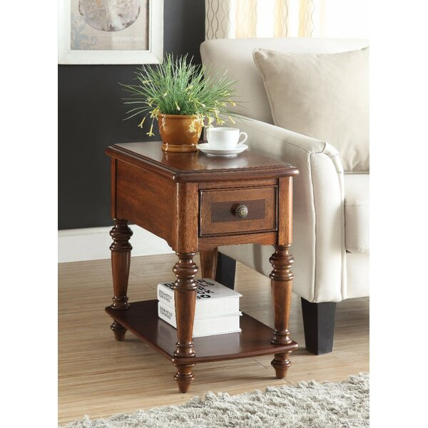 Stallman End Table with Storage by Bay Isle Home