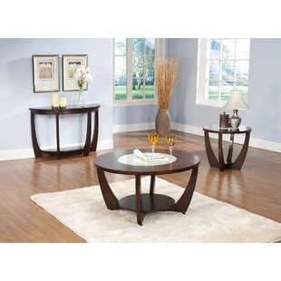 Thurmont 3 Piece Coffee Table Set Brayden Studio