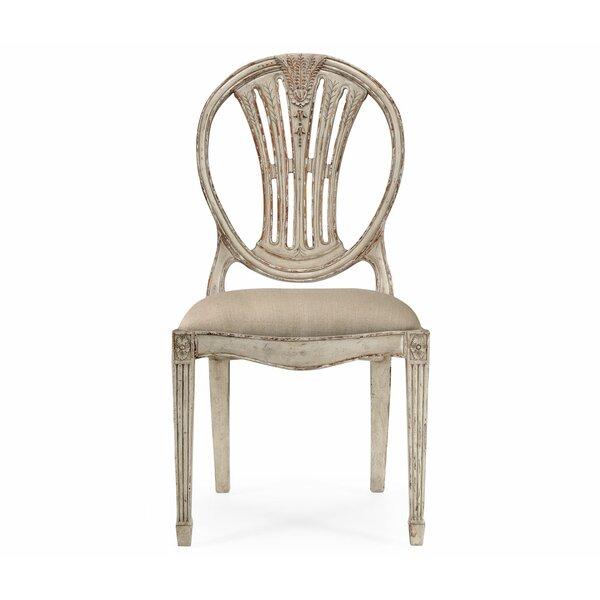 Hepplewhite Wheatsheaf Solid Wood Dining Chair (Set Of 2)