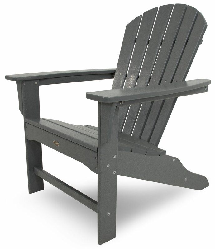 Cape Cod Trex Plastic Adirondack Chair
