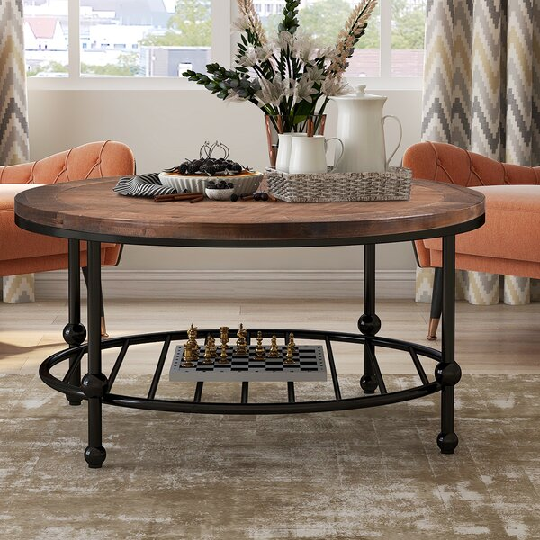 Bressyln Coffee Table With Storage By Canora Grey