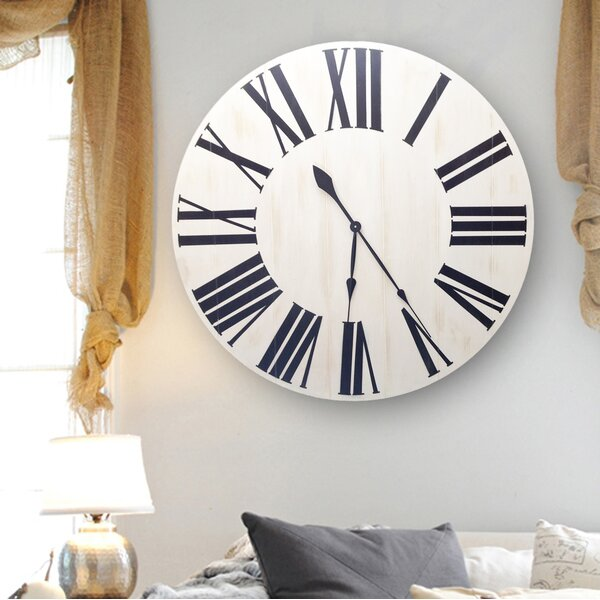 Oversized Charm Wall Clock by Brandt Works LLC