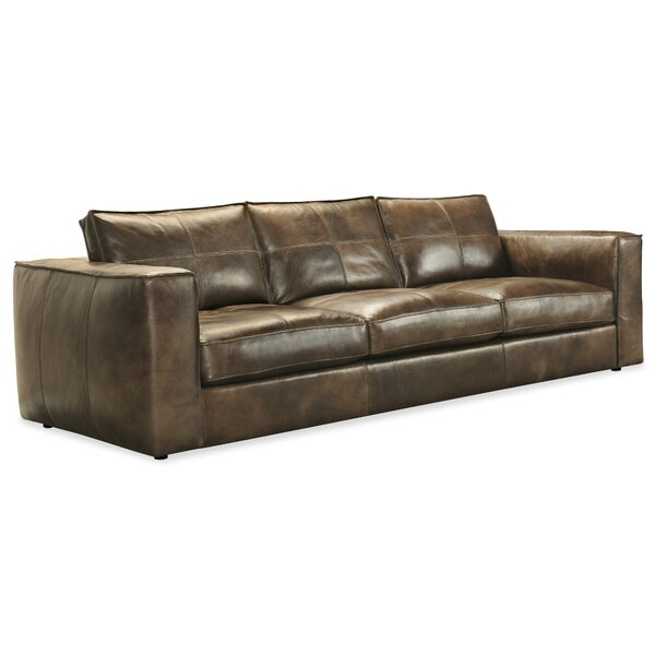 Nice Chic Solace Leather Sofa by Hooker Furniture by Hooker Furniture