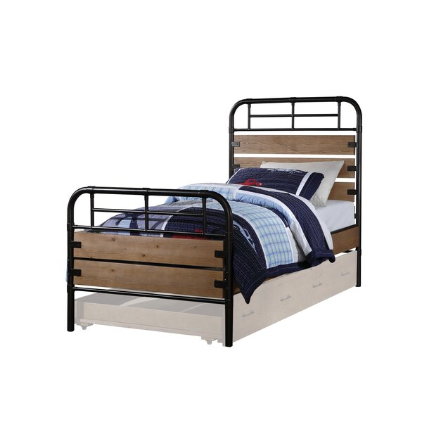 Rech Twin Panel Bed with Trundle by Harriet Bee