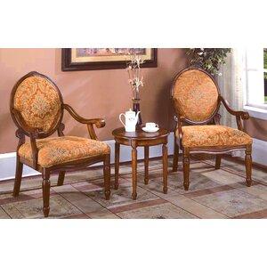 Oreanda 3 Pieces Living Room Armchair Set