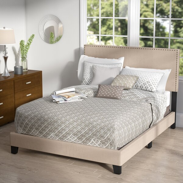 Minos Queen Upholstered Standard Bed by Latitude Run