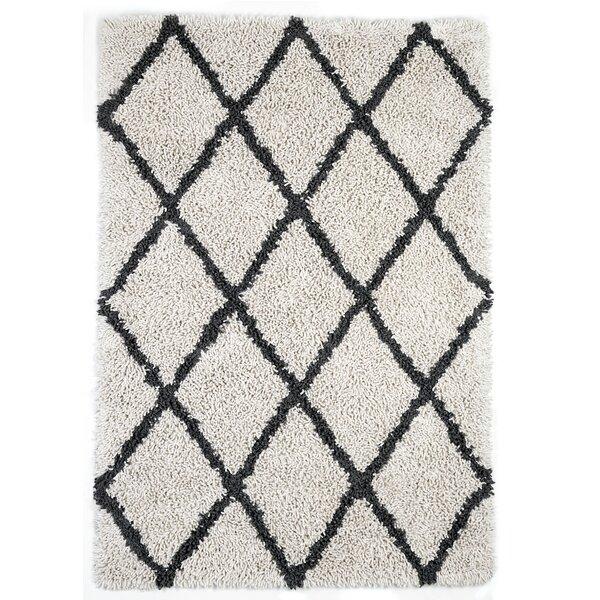 Fells Ivory/Gray Area Rug by Brayden Studio