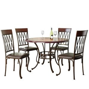 Gravity 5 Piece Dining Set by Red Barrel Studio