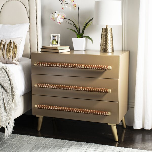 Beaverton 3 Drawer Chest by Bloomsbury Market