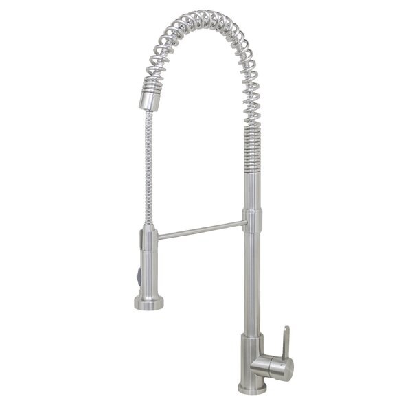 Durant Pull Down Single Handle Kitchen Faucet by Wells Sinkware