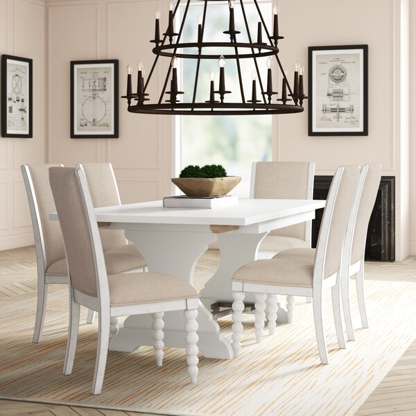 7 Piece Extendable Dining Set by Feminine French Country Feminine French Country