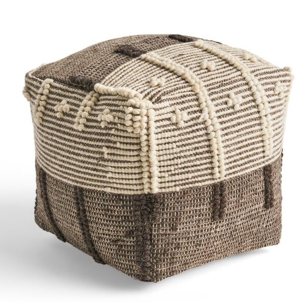 Nabors Pouf by Bungalow Rose