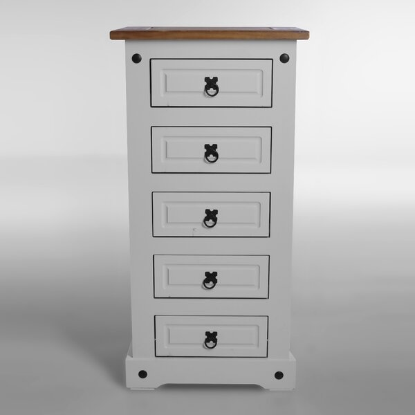 Swink Narrow 5 Drawer Lingerie Chest by August Grove